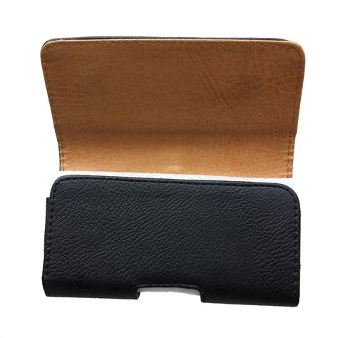 leather clip pouch horizontal leather pouch belt clip holster carrying for apple iphone 5 t1 ebay