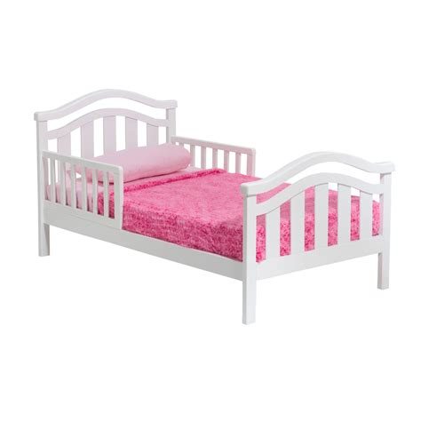 white wood toddler bed delta children san tropez wooden toddler bed in white