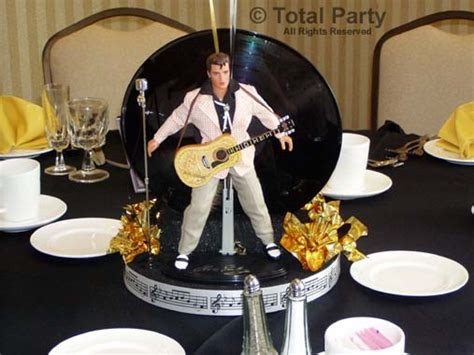 Elvis Decorations by Nj Decorations Event Centerpieces For Weddings