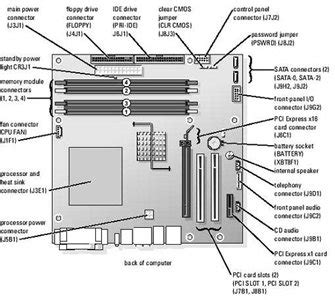 dell 4700 motherboard diagram, dell, free engine image for