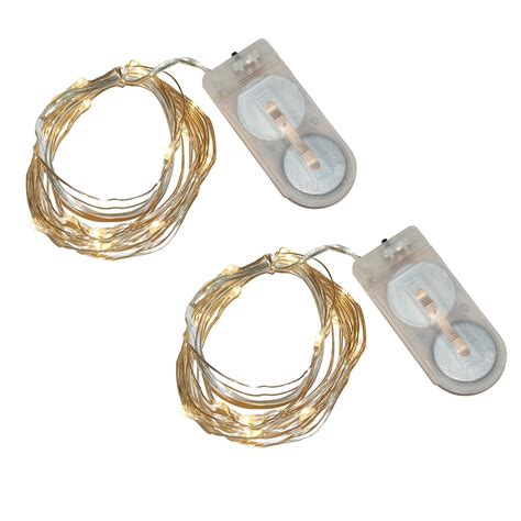 small decorative battery operated ls lumabase 40 light mini battery operated waterproof string