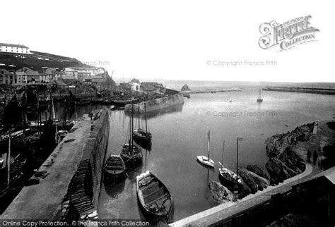 a history of mevagissey books mevagissey the harbour 1890 francis frith