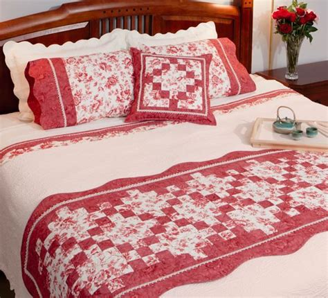 Patchwork Bed Runner Patterns - 17 best images about bed runners on free