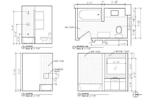 bathroom architectural drawings renovation the architect s slate