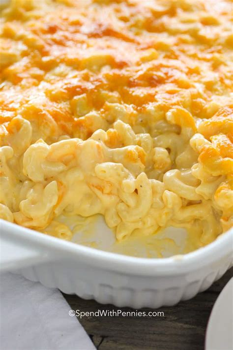 Mac Cheese mac and cheese casserole spend with pennies
