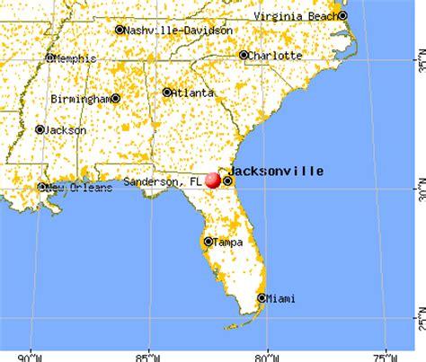 sanderson, florida (fl 32087) profile: population, maps