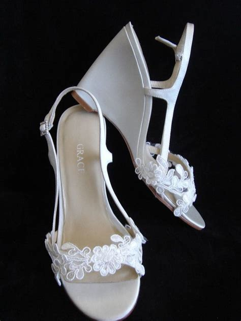 17 best ideas about wedge wedding shoes on