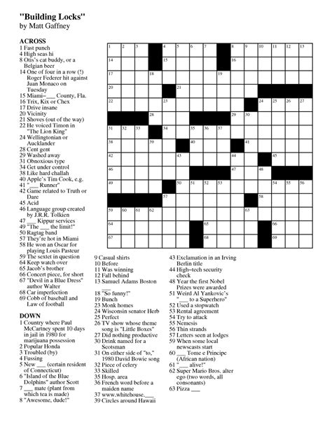 free printable easy crossword puzzles health symptoms free daily printable crosswords health symptoms and cure com
