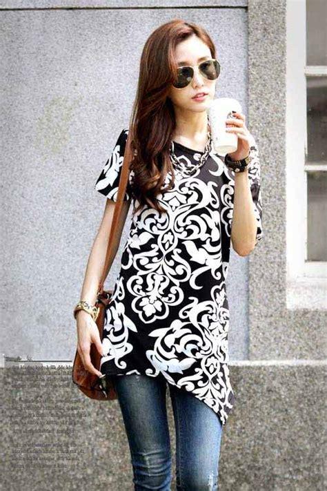 Baju Wanita Keren baju atasan wanita korea motif keren myrosefashion