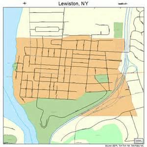 Lewiston New York Map lewiston new york street map 3642147