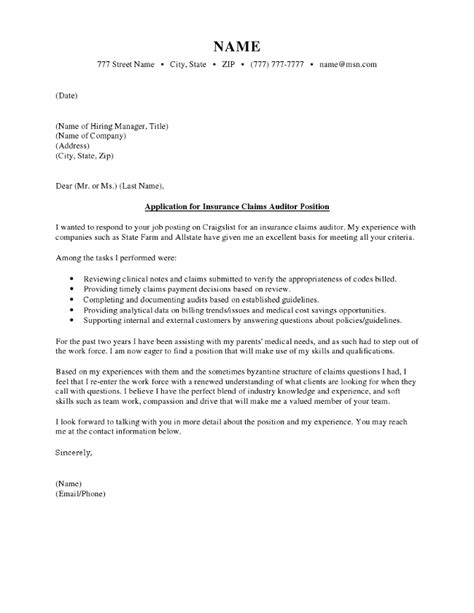 Claims Attorney Cover Letter by Insurance Claim Cover Letter