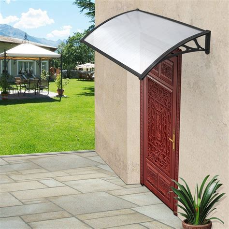 patio door canopy door canopy patio awning shelter porch front roof