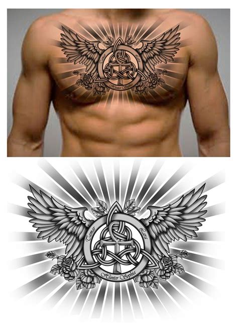 tattoo around neck chest 31 best chest neck images on pinterest arm tattoos