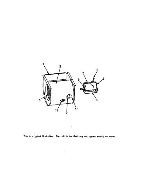 trane furnace parts diagram trane gas furnace general assembly parts model