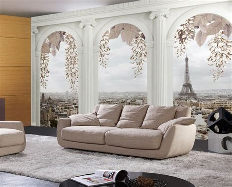 Wall Murals Living Room by Wallpaper 3d Murals Planet Space 3d Mural Photo Wallpaper
