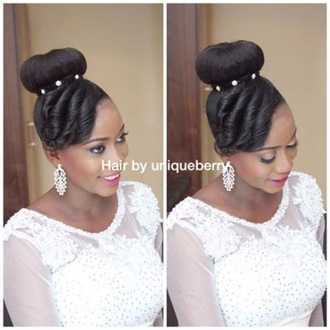 nigerian wedding hair styles 134 best nigerian wedding hairstyles images on pinterest