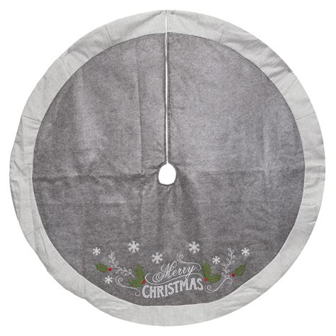 shop holiday living inches christmas tree skirt at lowes com