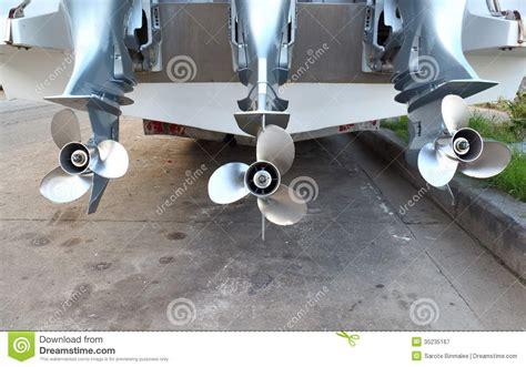speed boat propeller motor propeller of speed boat stock image image of