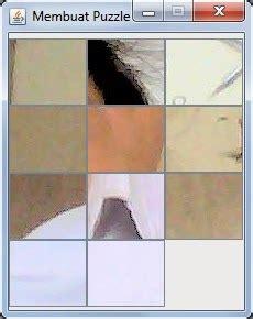 membuat game puzzle cara membuat game sederhana puzzle dengan java dan