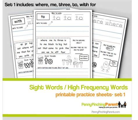 180 days of high frequency words for kindergarten 180 days of practice 17 best images about learning printables on