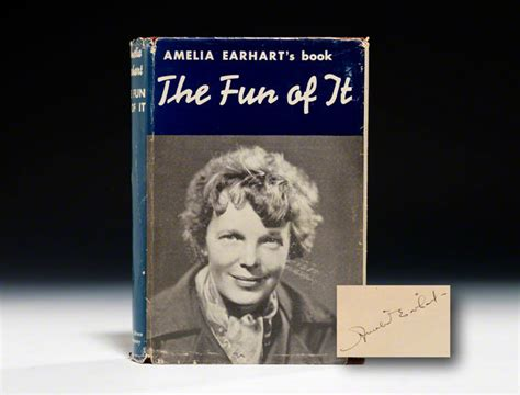 a picture book of amelia earhart of it edition signed amelia earhart