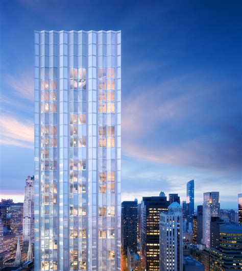 tower ny foster partners slender luxury new york residential