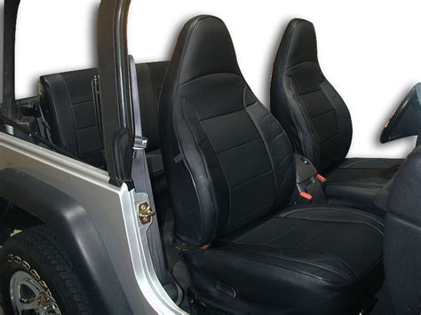 Jeep Wrangler Tj Seats Jeep Wrangler Tj 1997 2002 Leather Like Custom Seat