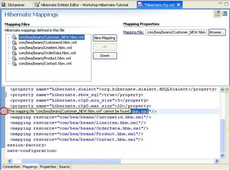 hibernate tutorial xml mapping hibernate tutorial manage hibernate configuration file