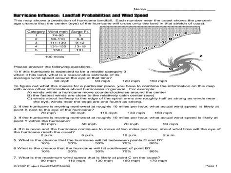 hurricane worksheet answers hurricane worksheets worksheets