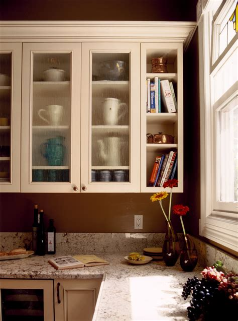 Glass Shelves For Kitchen Cabinets by Templer Interiors The Kitchen Corner