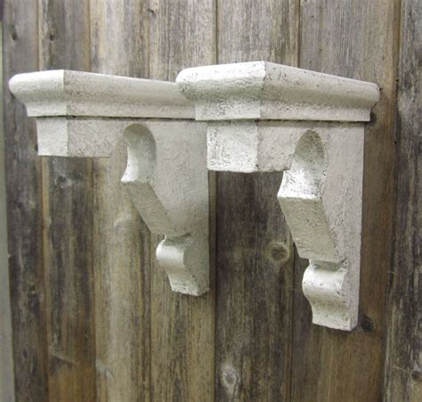 Mantle Brackets 2 Vintage Corbels Shelf Brackets Mantle Supports