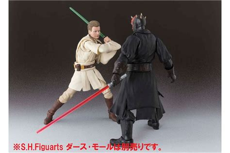 Bandai Shfiguarts Obi Wan sh s h figuarts obi wan kenobi episode i wars bandai mykombini