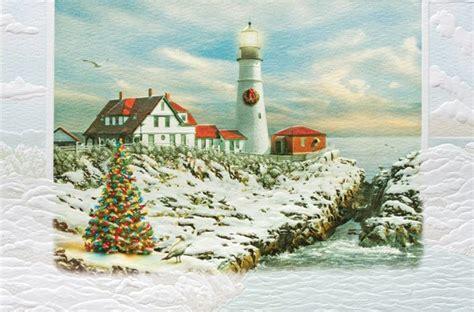 portland head christmas cards shermans maine coast book shop cafe