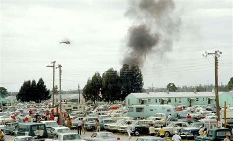 Wildfire Spectators Cause Problems 1966 12 hours of sebring race profile history photos