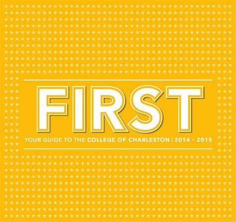 College Of Charleston Academic Calendar 2014 15 By College Of Charleston Issuu