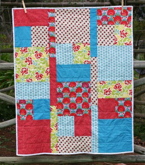 Easy Quilt Patterns Using Quarters by Easy Quarter Quilt By Kate Henderson Quilting Pattern