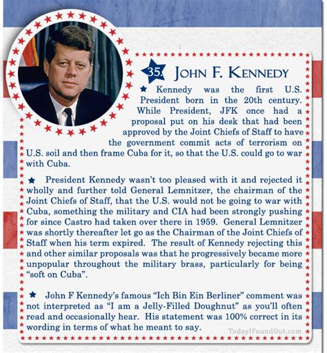 john f kennedy biography for elementary students 100 facts about us presidents 35 john f kennedy
