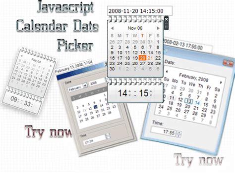Compare Calendar Time Java Javascript Calendar Date Picker Screenshot Page