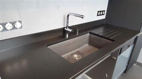 cuisine plan de travail granit noir plan de travail en granit noir 04 16 178 granit