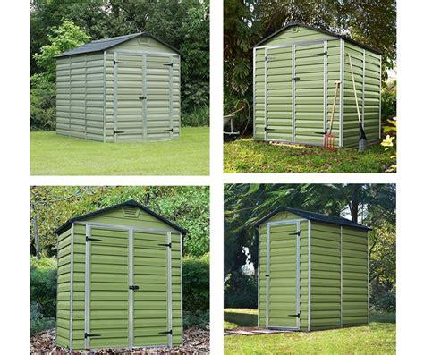 palram green sheds quality plastic sheds