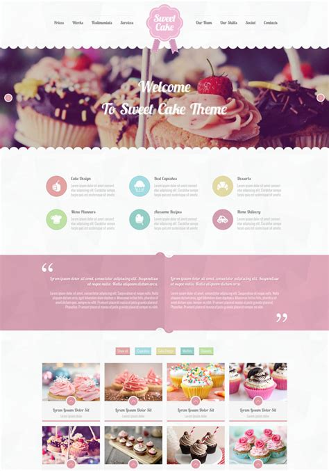 templates for retail website 15 leading retail food website templates