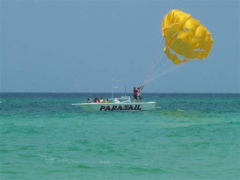 banana boat pcb parasailing panama city beach florida shell island