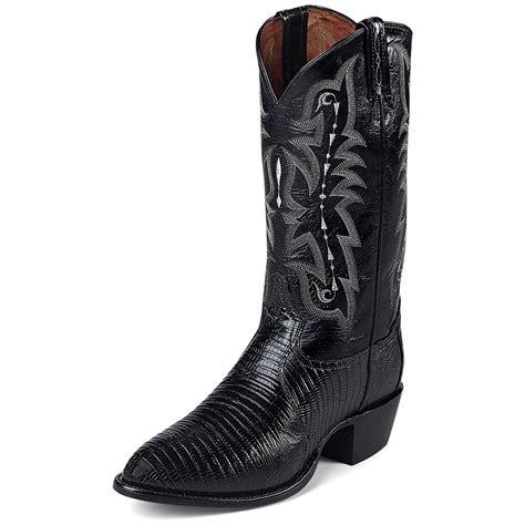 tony lama boots for tony lama s 13 quot lizard western boots 109145