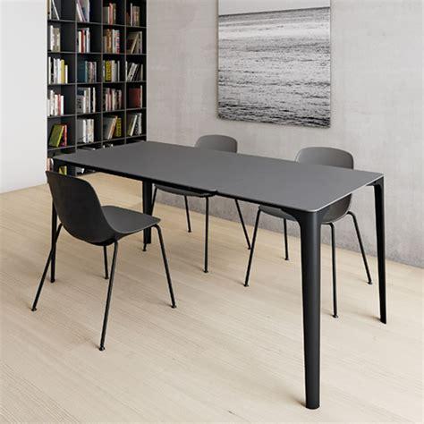 corian tisch mat verl 228 ngerbarer tisch infiniti aus aluminium platte