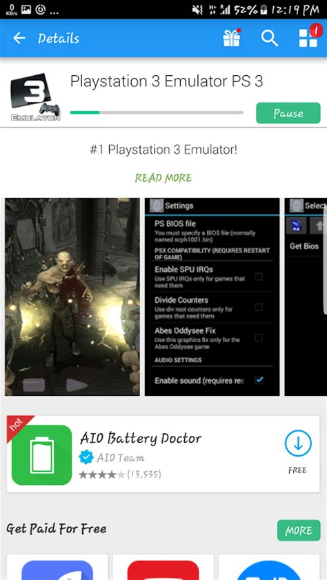 emulators for android free ps3 emulator for android to play ps3 on android 2018