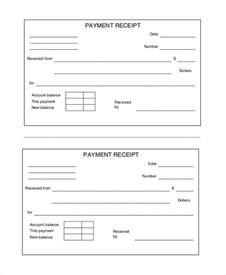fillable and blank cash payment receipt sample vlashed