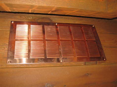 copper soffit  eave vents