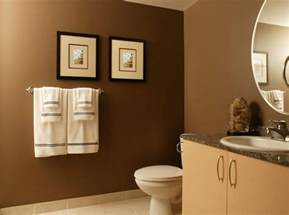Small Bathroom Paint Color Ideas Pictures by Small Brown Bathroom Color Ideas Small Brown Bathroom