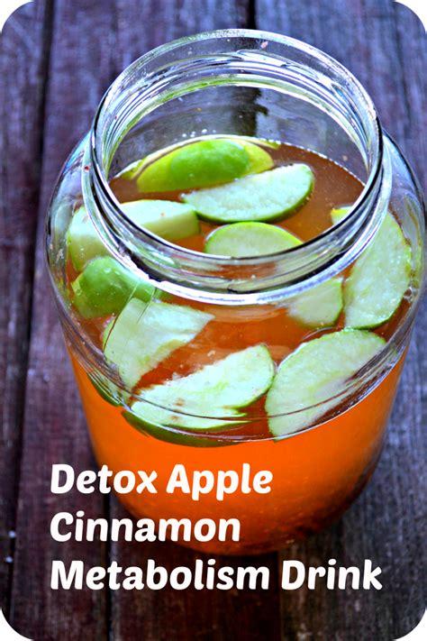 Metabolism Boosting Detox Drinks by Apple Cinnamon Metabolism Water