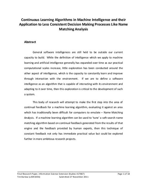 how to write a new historicism paper continuous learning algorithms a research paper